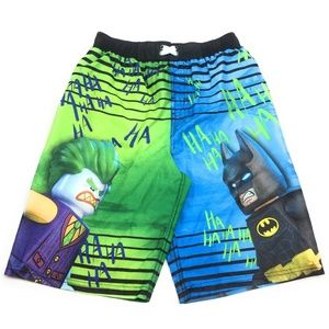 b89b89c18f DC Comics Swim - Lego DC Comics Batman Boy's Boardshort Swim Trunk